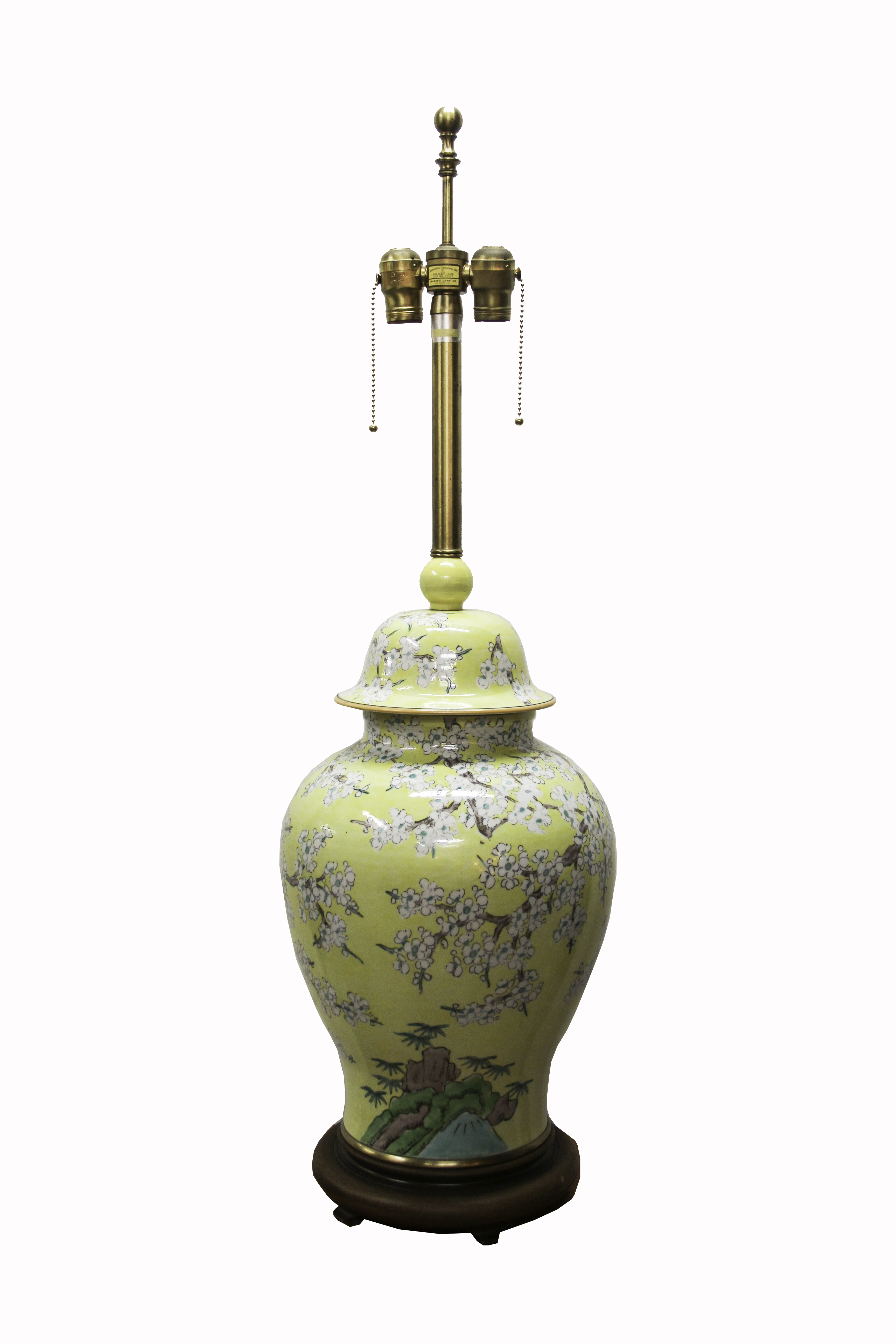 Pair Of Marbro Chinoiserie Lamps